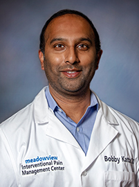 Photo of Dr. Bobby Katta with Meadowview Interventional Pain Management Center
