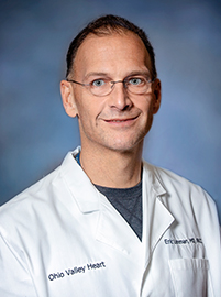 Photo of Dr. Eric Lohman with Ohio Valley Heart