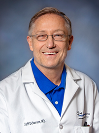 Photo of Dr. Jeffrey Dickerson with Meadowview Pulmonary & Sleep Center