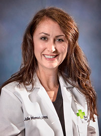 Photo of Julia Womack, APRN with Flemingsburg Medical Clinic